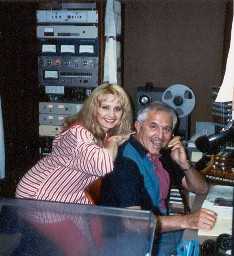 Ivory Blackwood & Gene Packard in WRDR Studio
