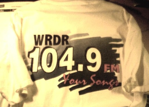 WRDR Promotional t-shirt